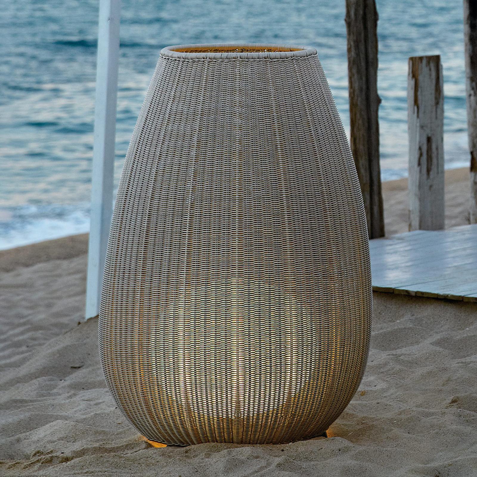 Bover Amphora 02 - Terrassenleuchte, light beige