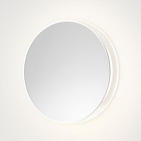 Applique LED di design Lid in finitura a specchio