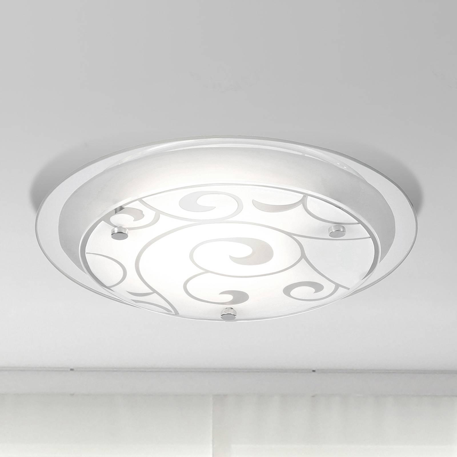 Elegante plafondlamp KRISTJANA, 25 cm