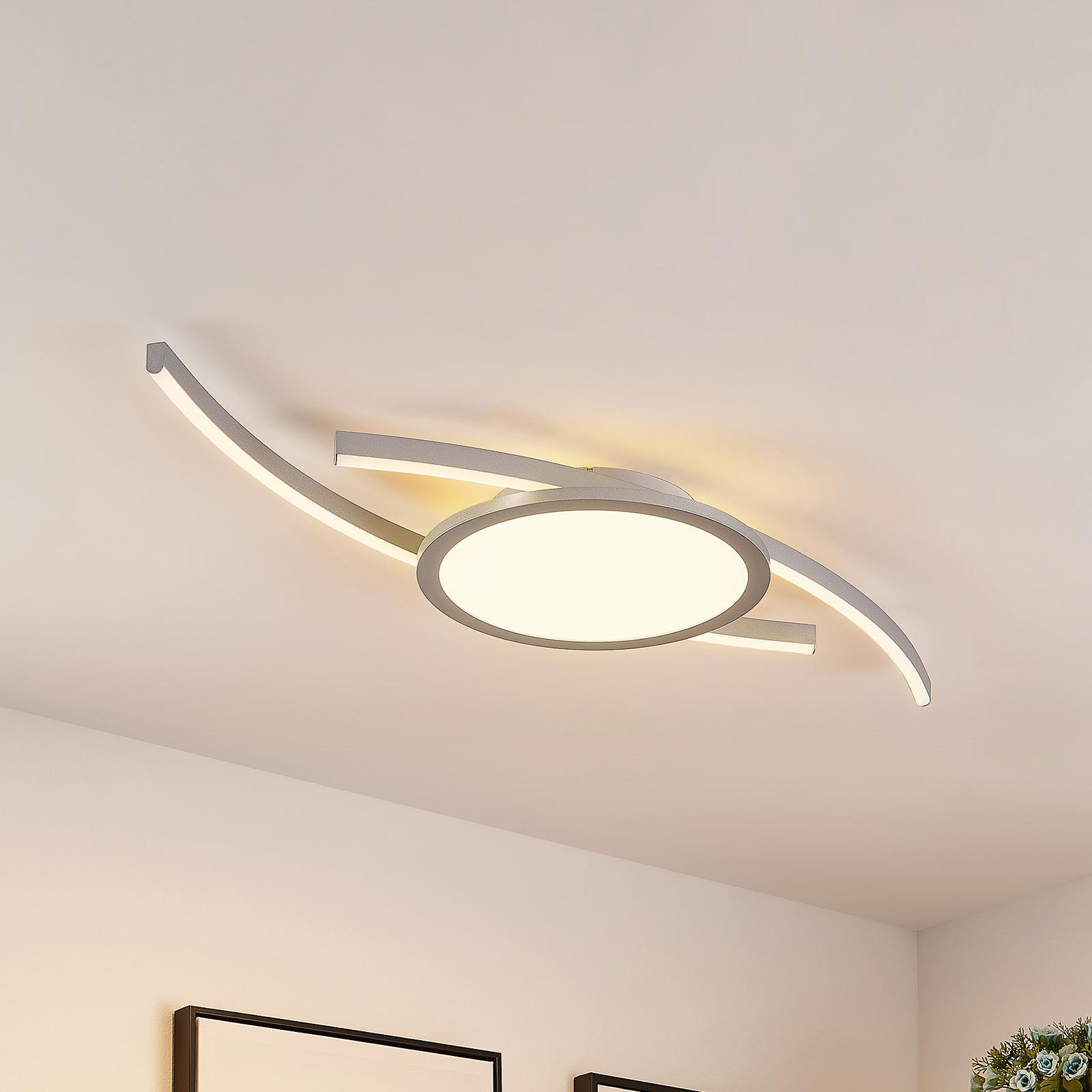 Lucande Tiaro plafón LED, redondo