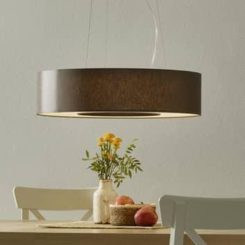 LED závěsné světlo Donut stínidlo chintz