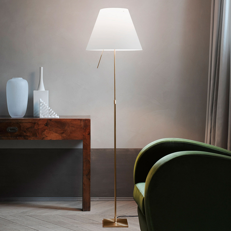 Luceplan Costanza lámpara de pie D13t, latón