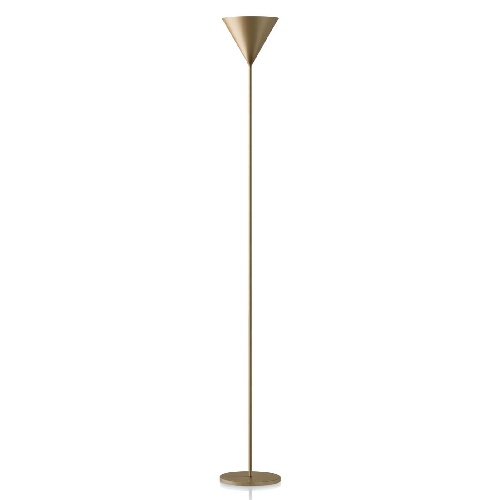 Modo Luce ABC Single lampadaire doré mat