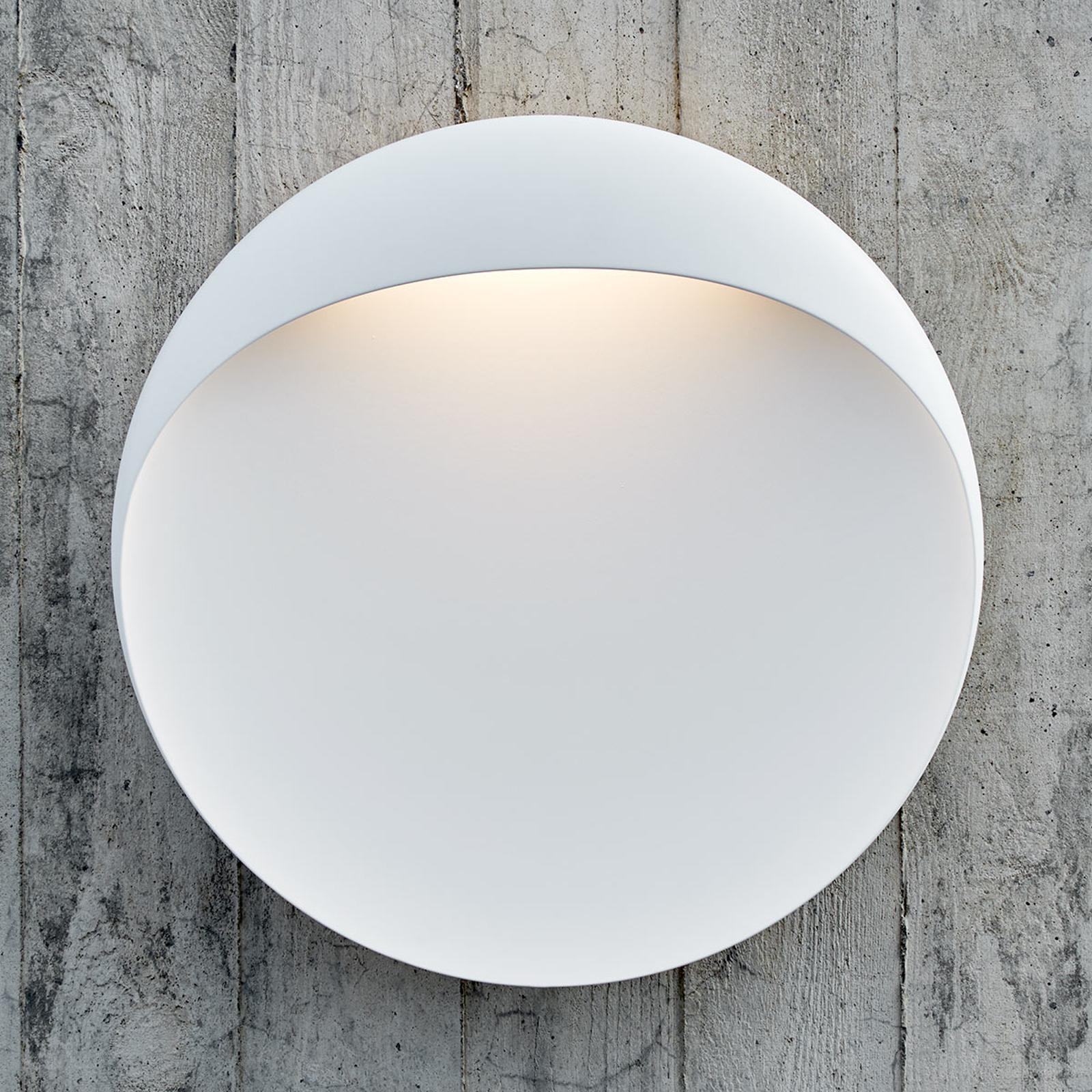 Louis Poulsen Flindt wandlamp Ø 20 cm wit 2.700K