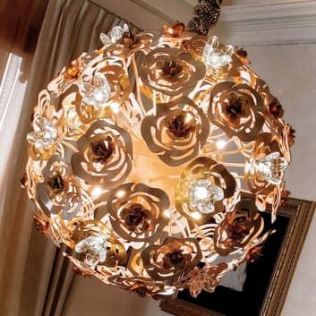 Kunstferdig LED-hengelampe VIE EN ROSE