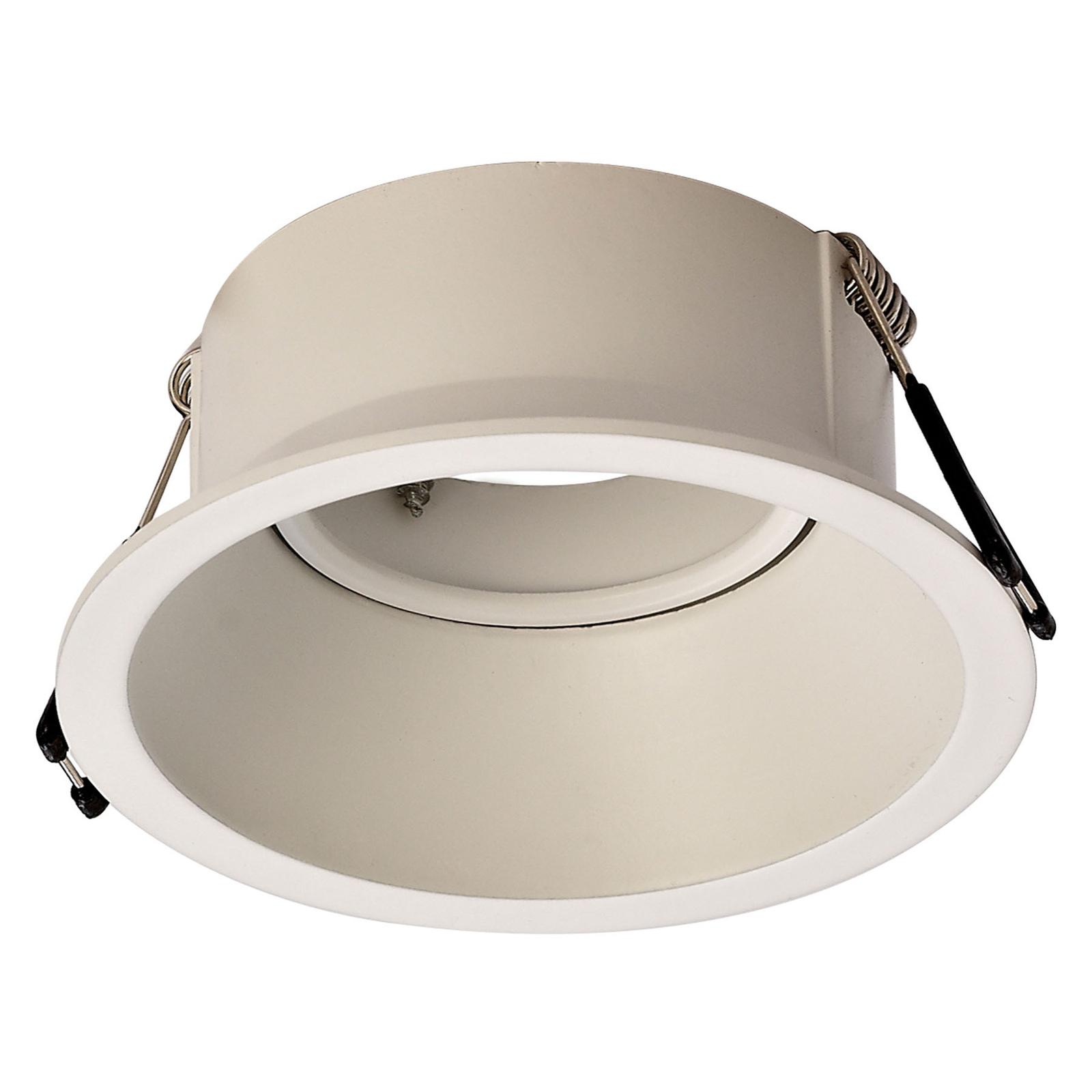 Einbauleuchte Comfort, rund, matt weiß