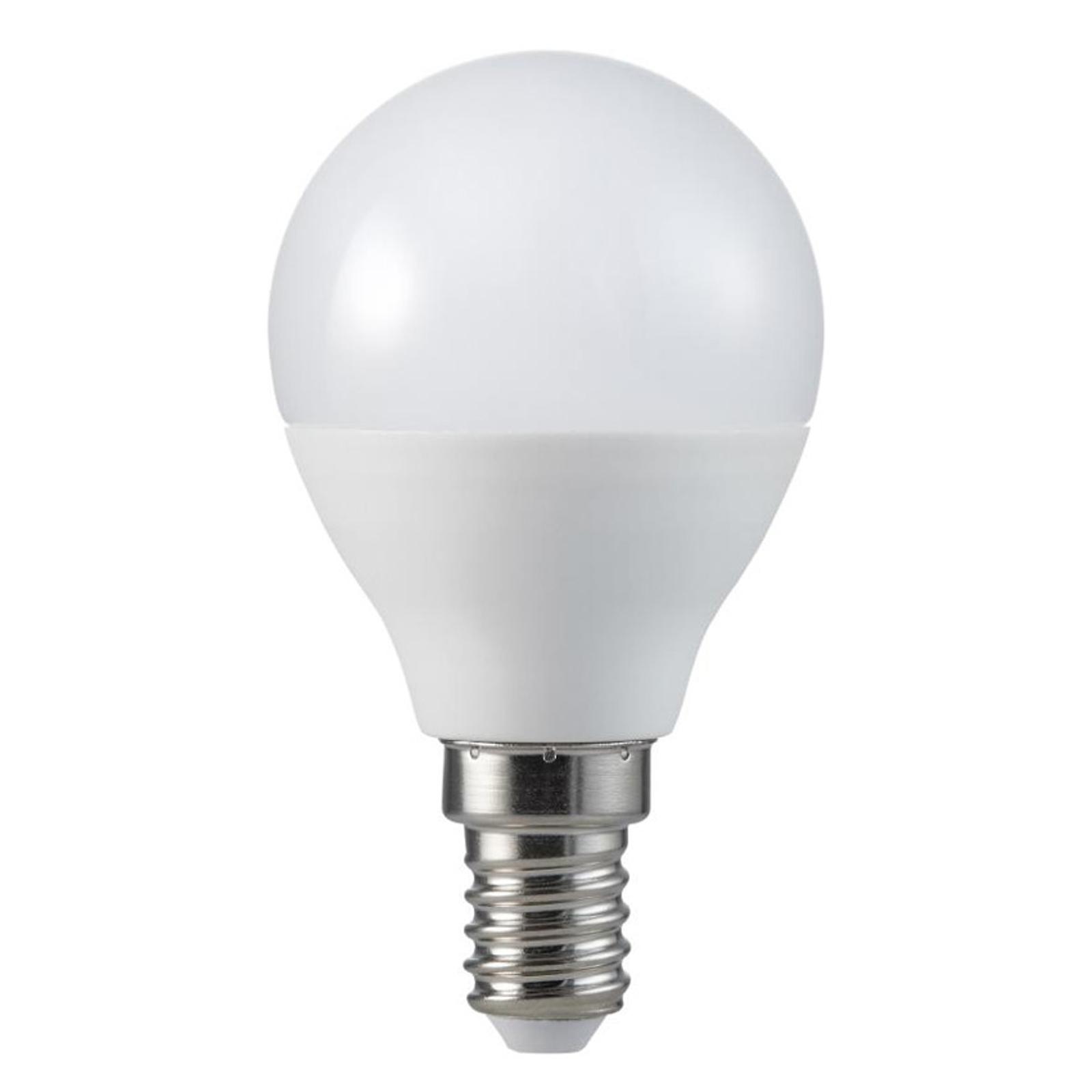 Lampadina LED goccia E14 5,5W 2.700K