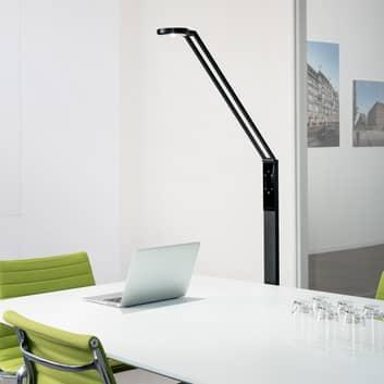 Luctra Floor Radial LED-lattiavalaisin ohjattava