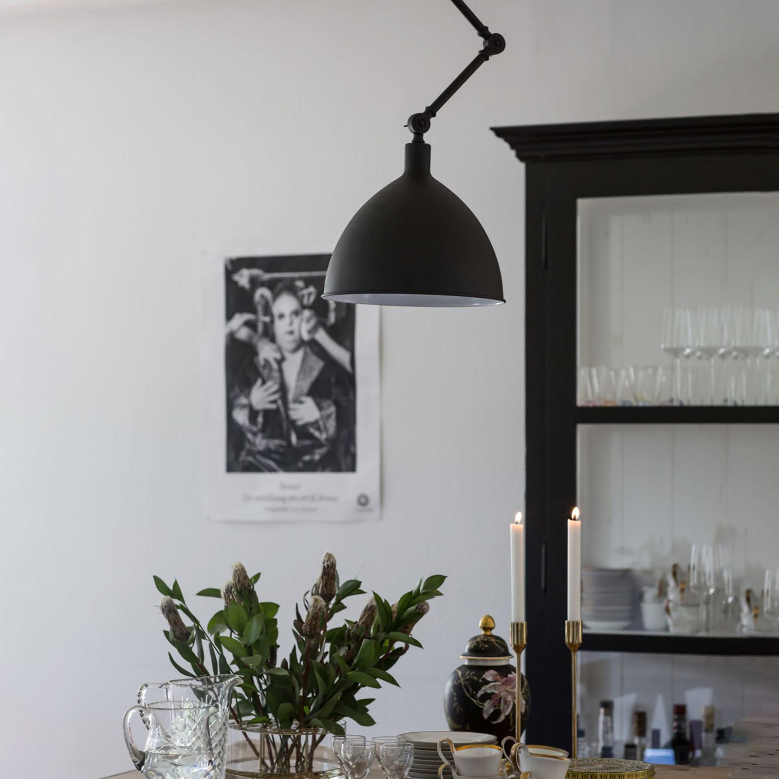 By Rydéns Bazar hanglamp zandzwart