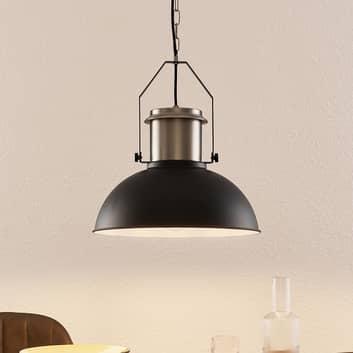 Lindby Freitjof suspension noire/nickel mat