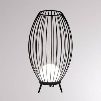 LOUM Boho lámpara de pie exterior IP54 con jaula