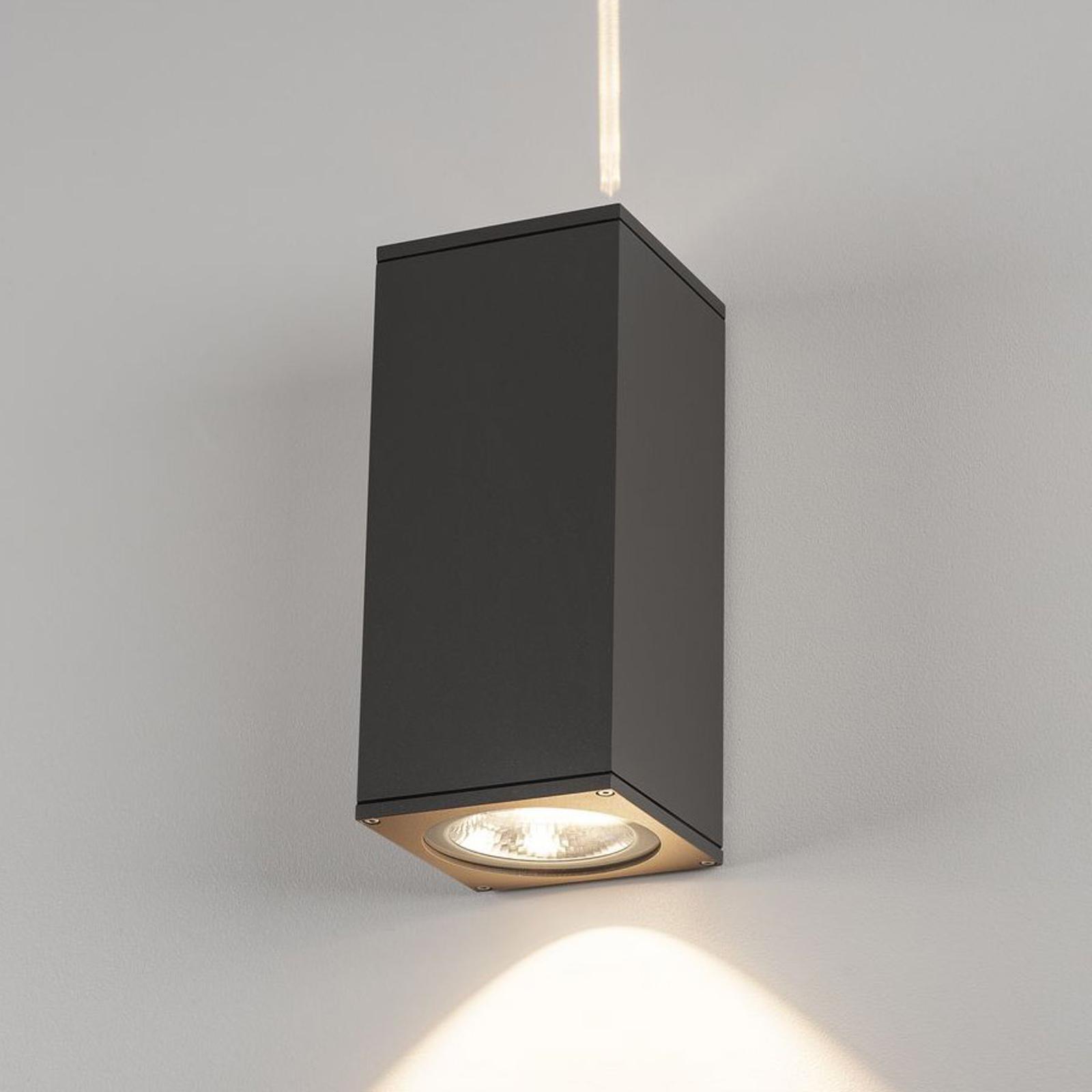 SLV Big Theo LED-Außenwandleuchte, anthrazit