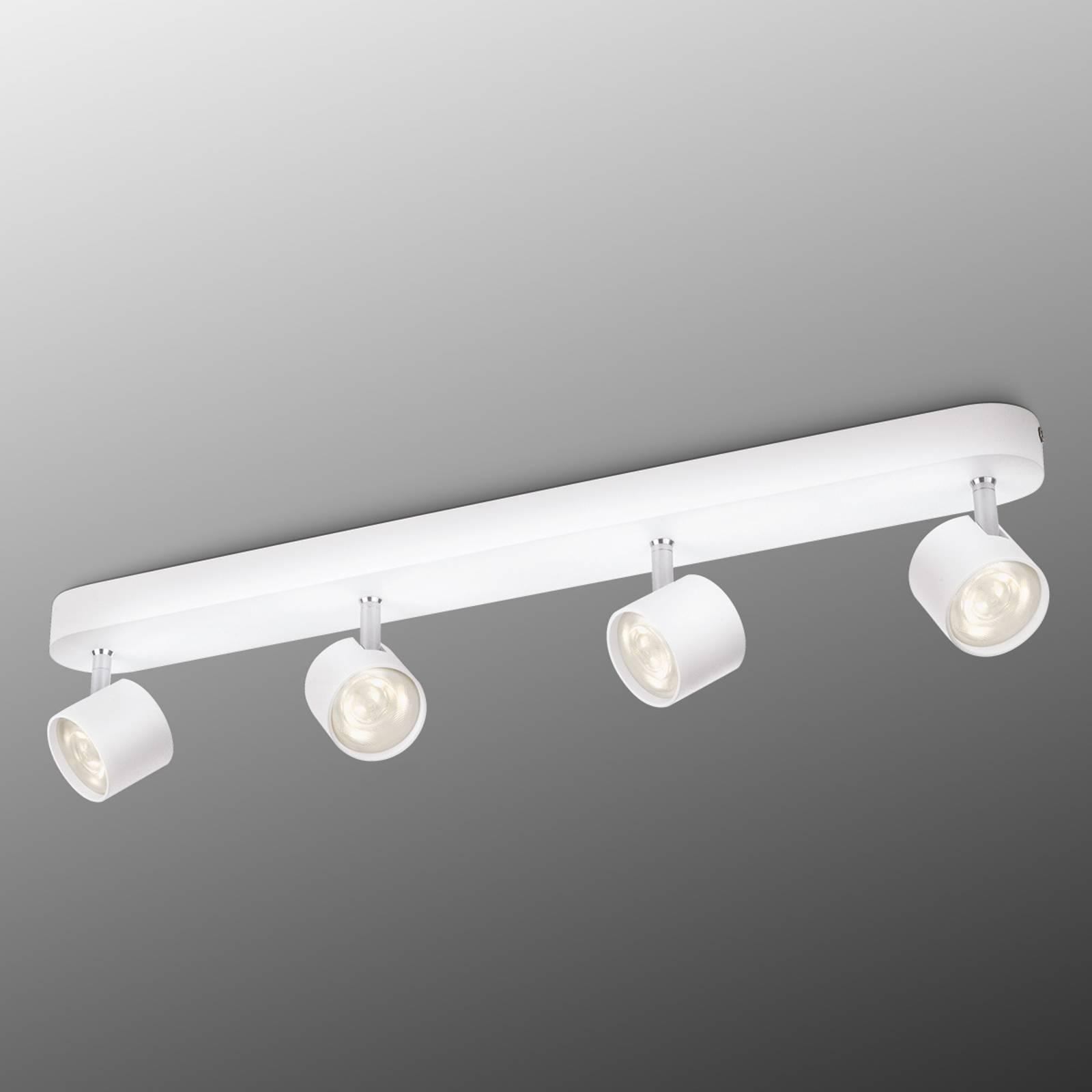 LED-plafondlamp Star, 4-lichts