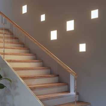 Paulmann Panel Areo 830 eckig weiß 3-Step-dim