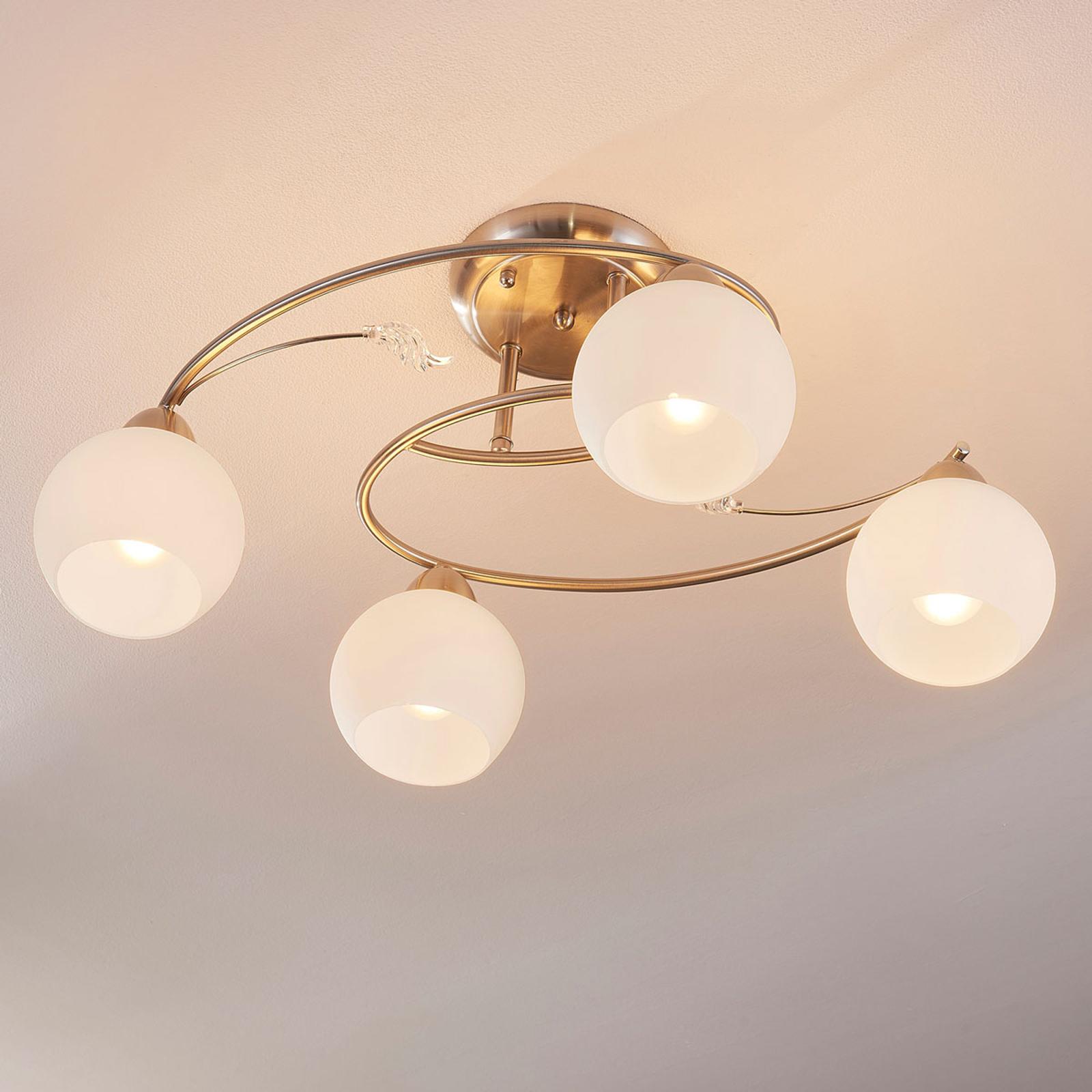 Plafonnier à quatre lampes Svean