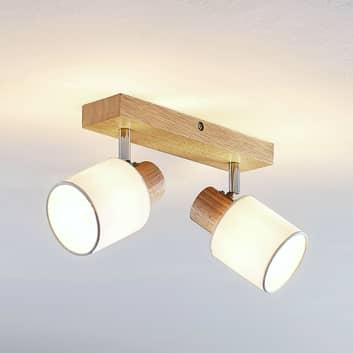 Lindby Wanessa spot da soffitto a 2 luci