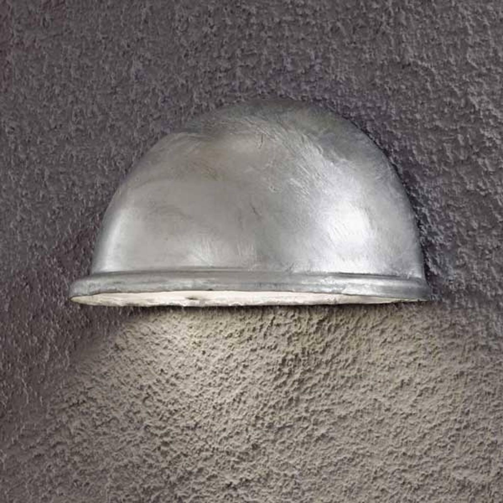 Zewnętrzna lampa ścienna TORINO E14 galwanizowana