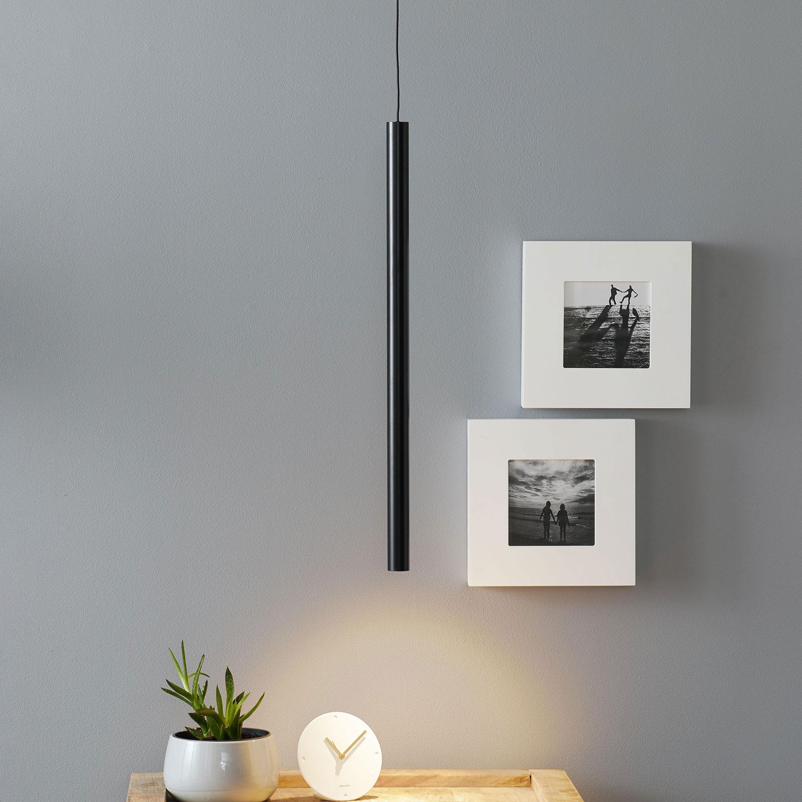 Arcchio Ilmare LED-Hängeleuchte 60 cm, schwarz