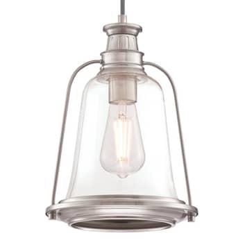 Westinghouse závěsné světlo Brian v niklu