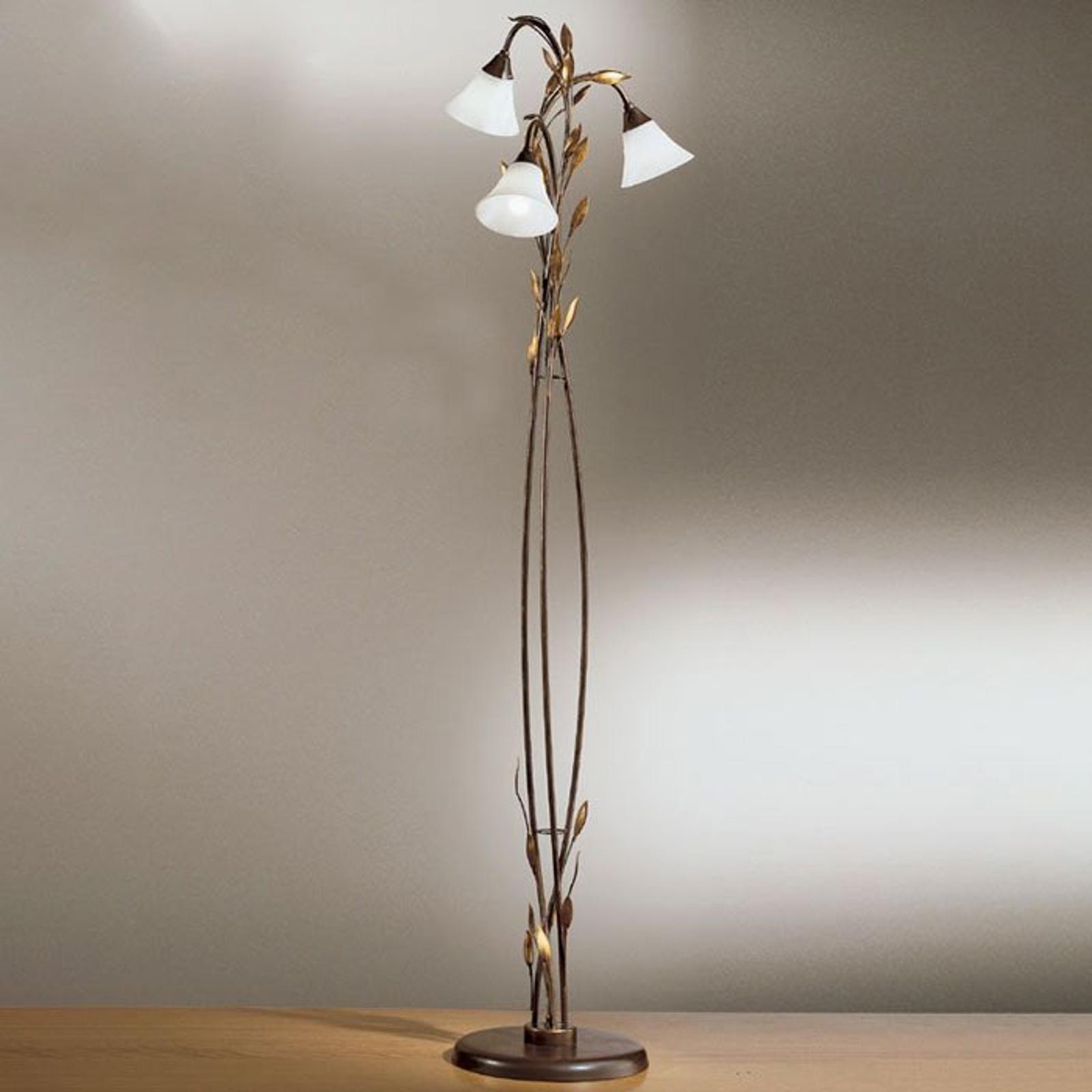 CAMPANA gulvlampe med tre lys