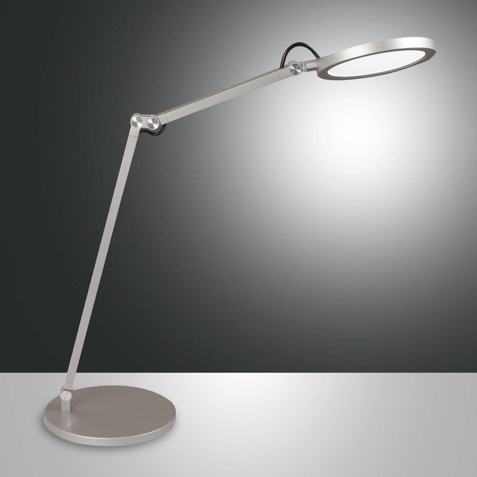 LED bureaulamp Regina met dimmer, alu