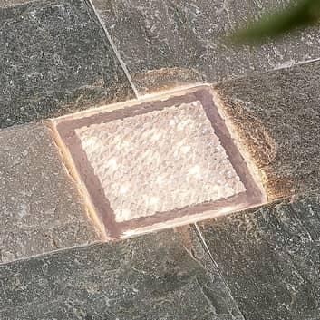 Prios Ewgenie foco empotrado LED, 10 x 10 cm