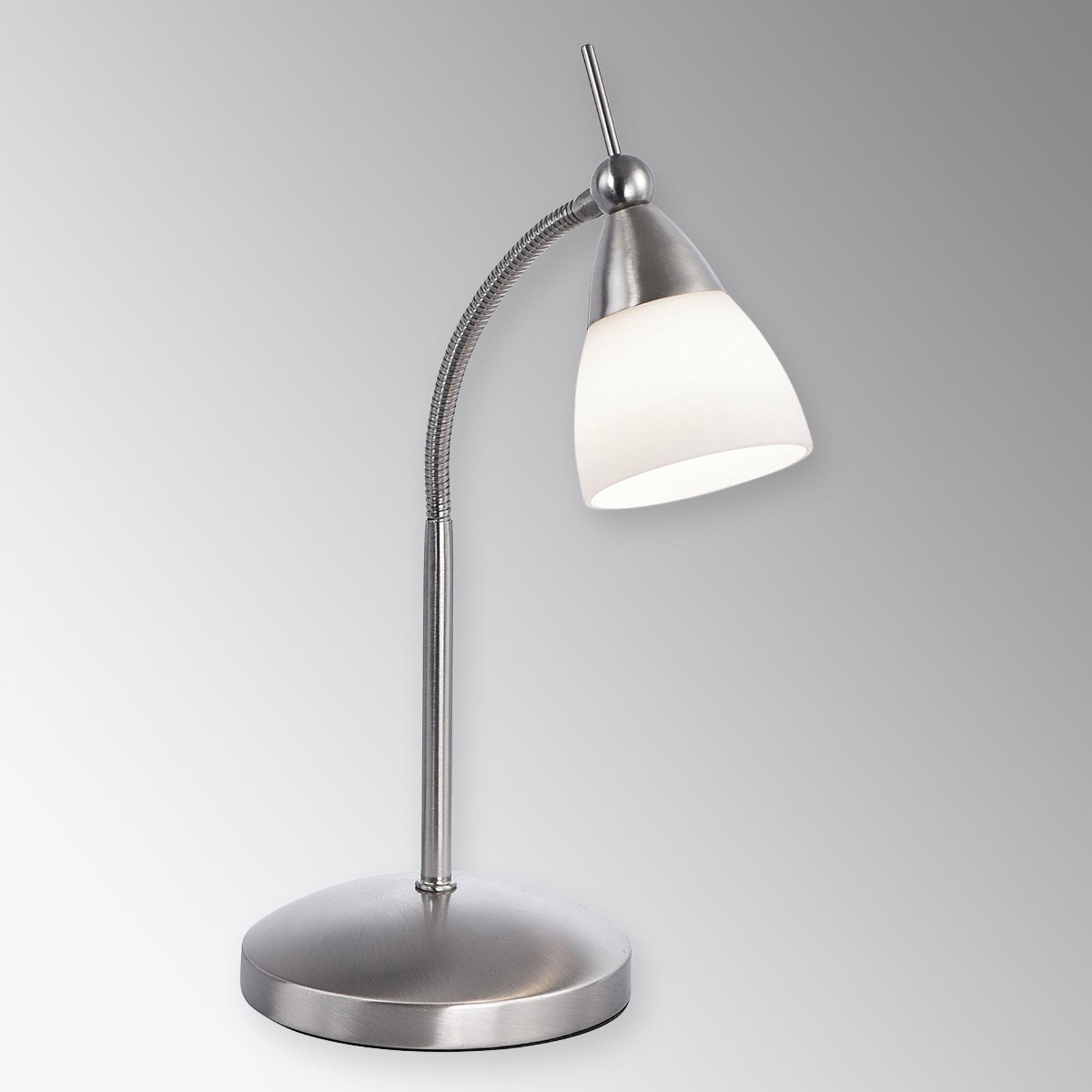 Pino – klasyczna lampa stołowa z żarówką LED