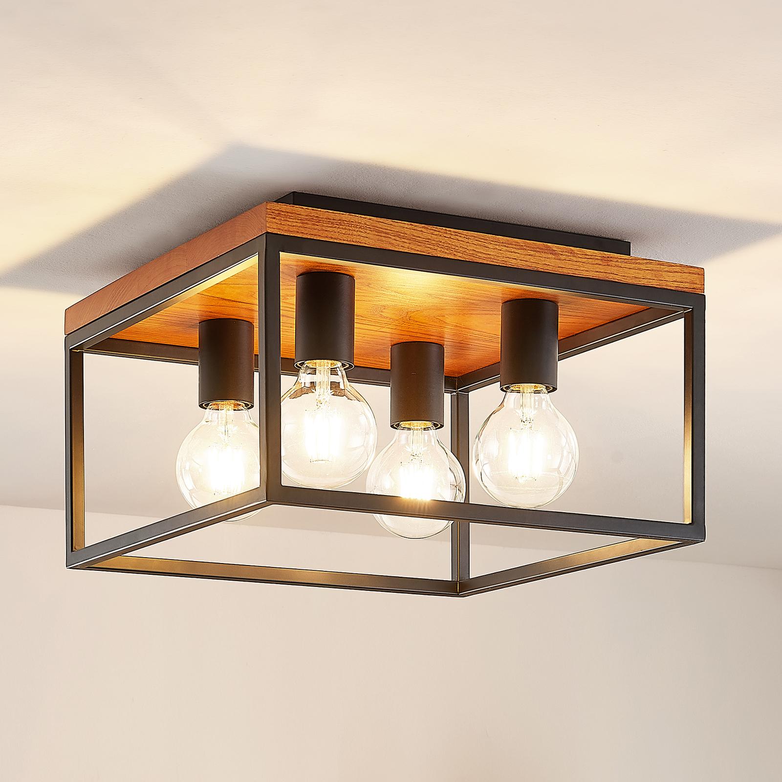 Lindby Miravi lampa sufitowa, 4-punktowa