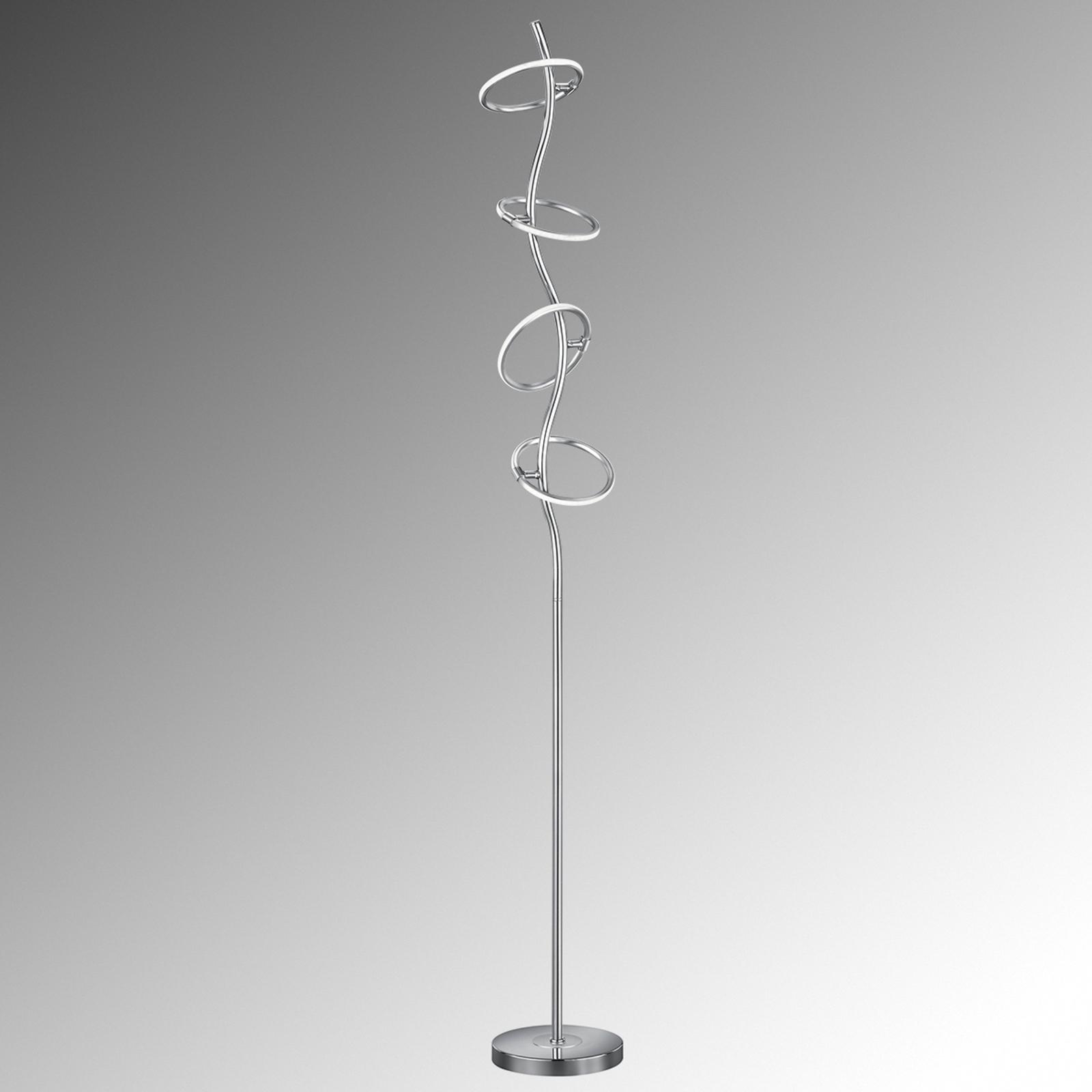 Lampa stojąca LED Olympus, ze ściemniaczem, 4-pkt.