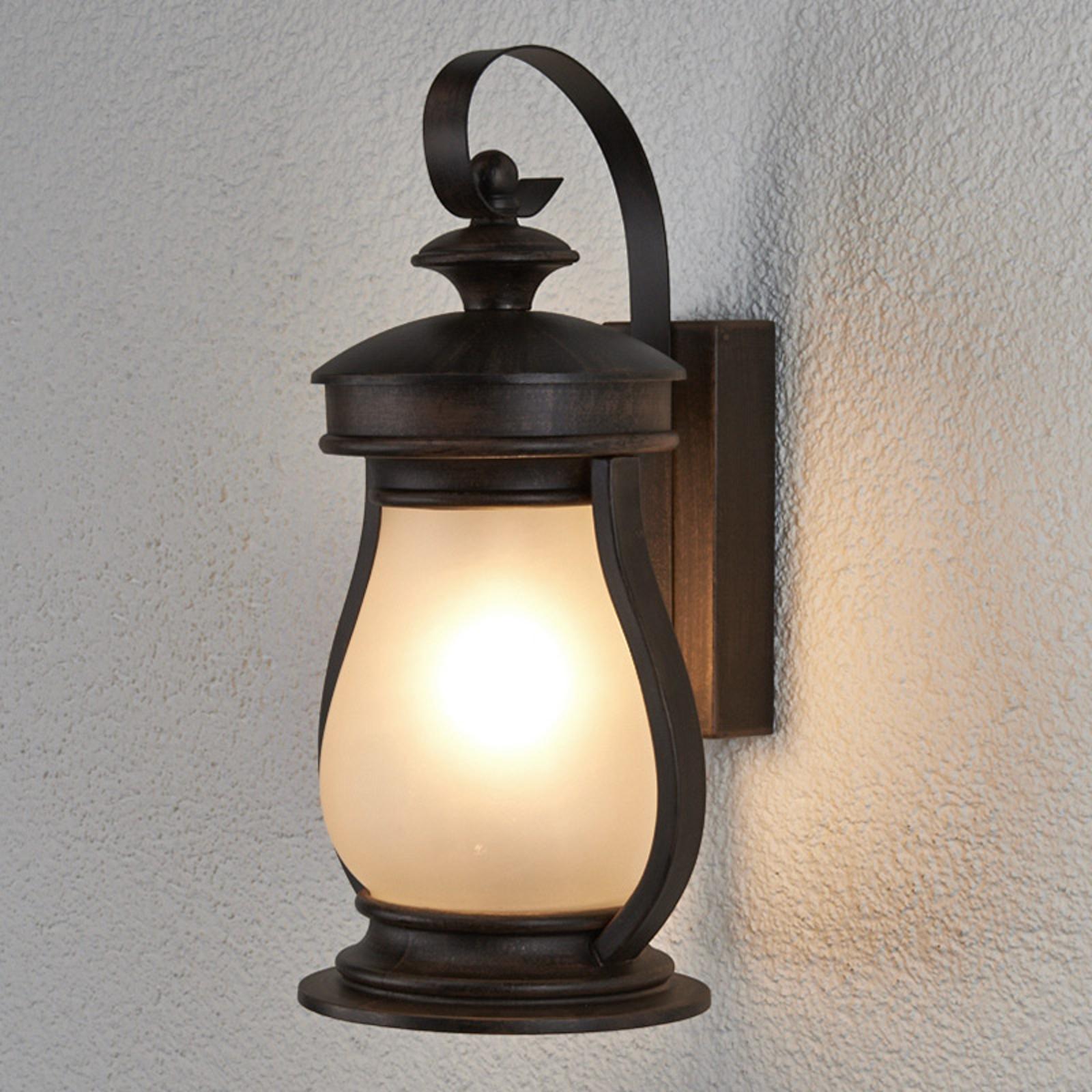 Elegancka zewnętrzna lampa ścienna Rafael