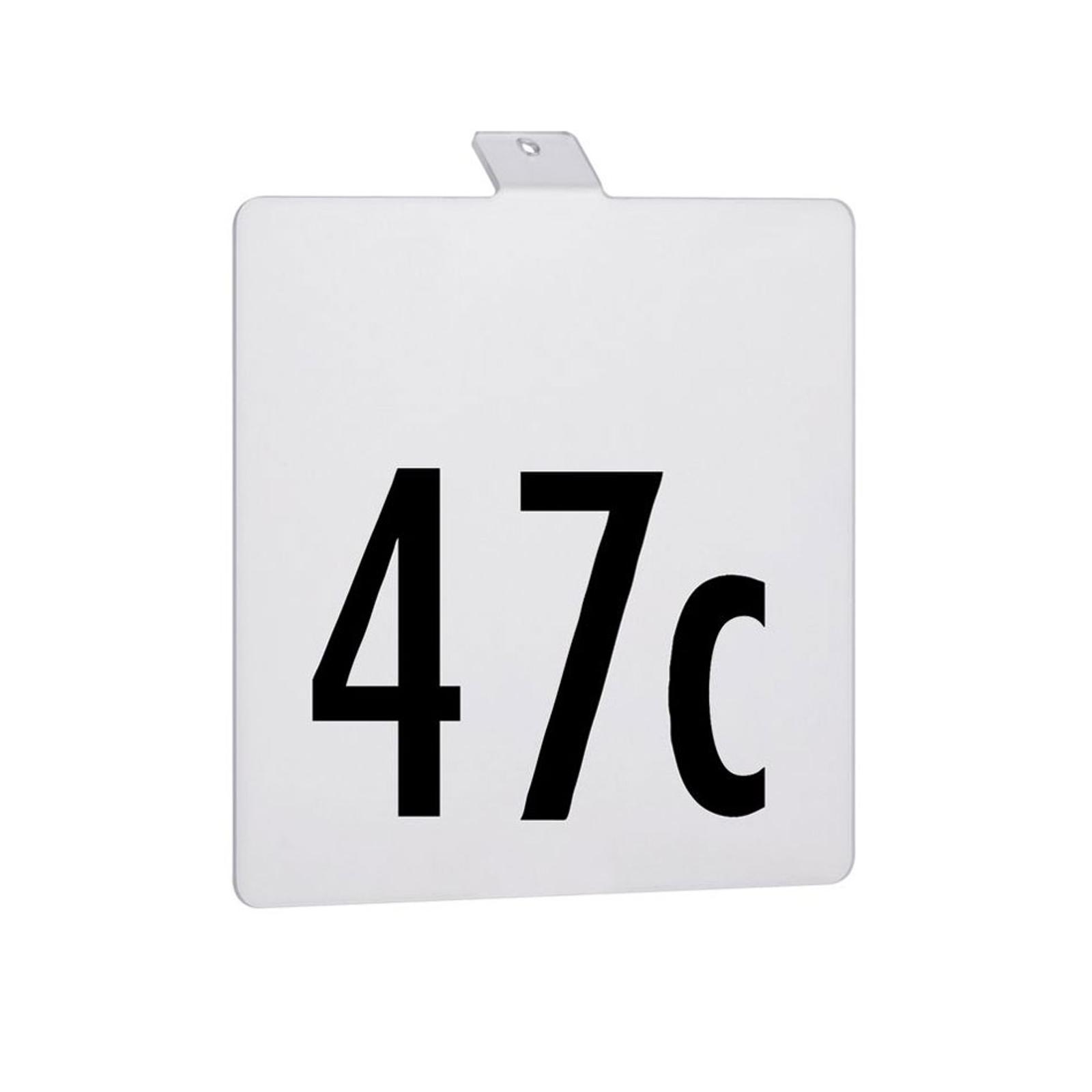 Paulmann número de casa de lámpara LED solar Soley