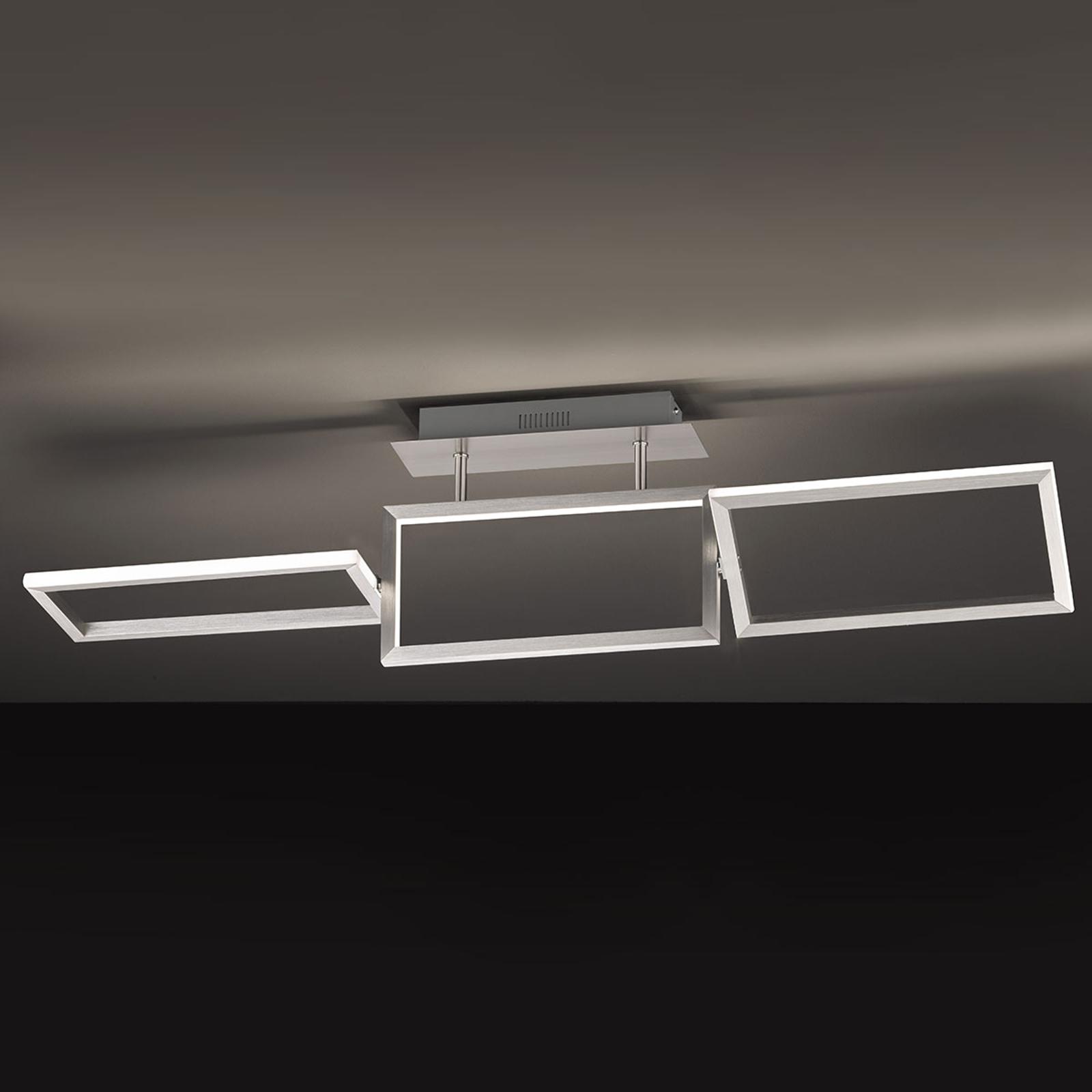 Individuell ausrichtbare LED-Deckenleuchte Skip