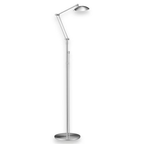 Incantevole lampada LED da terra CURL