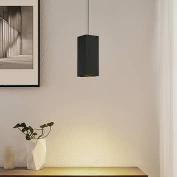Arcchio Marilena hængelampe, kantet, sort