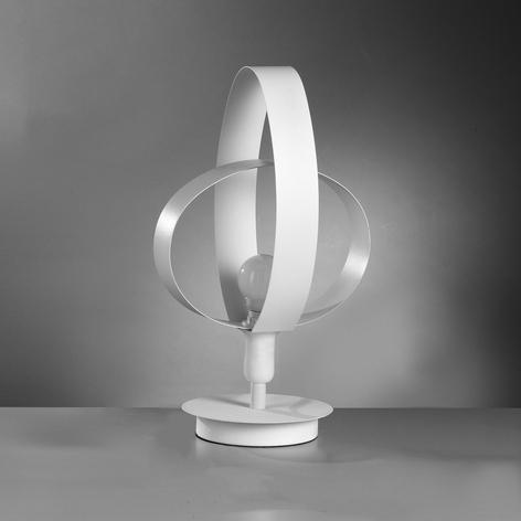 Lámpara de mesa Serena de diseño bonito, blanco