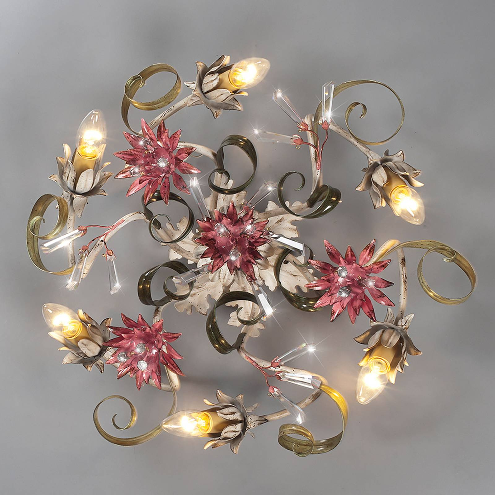 Florentijnse plafondlamp Daila