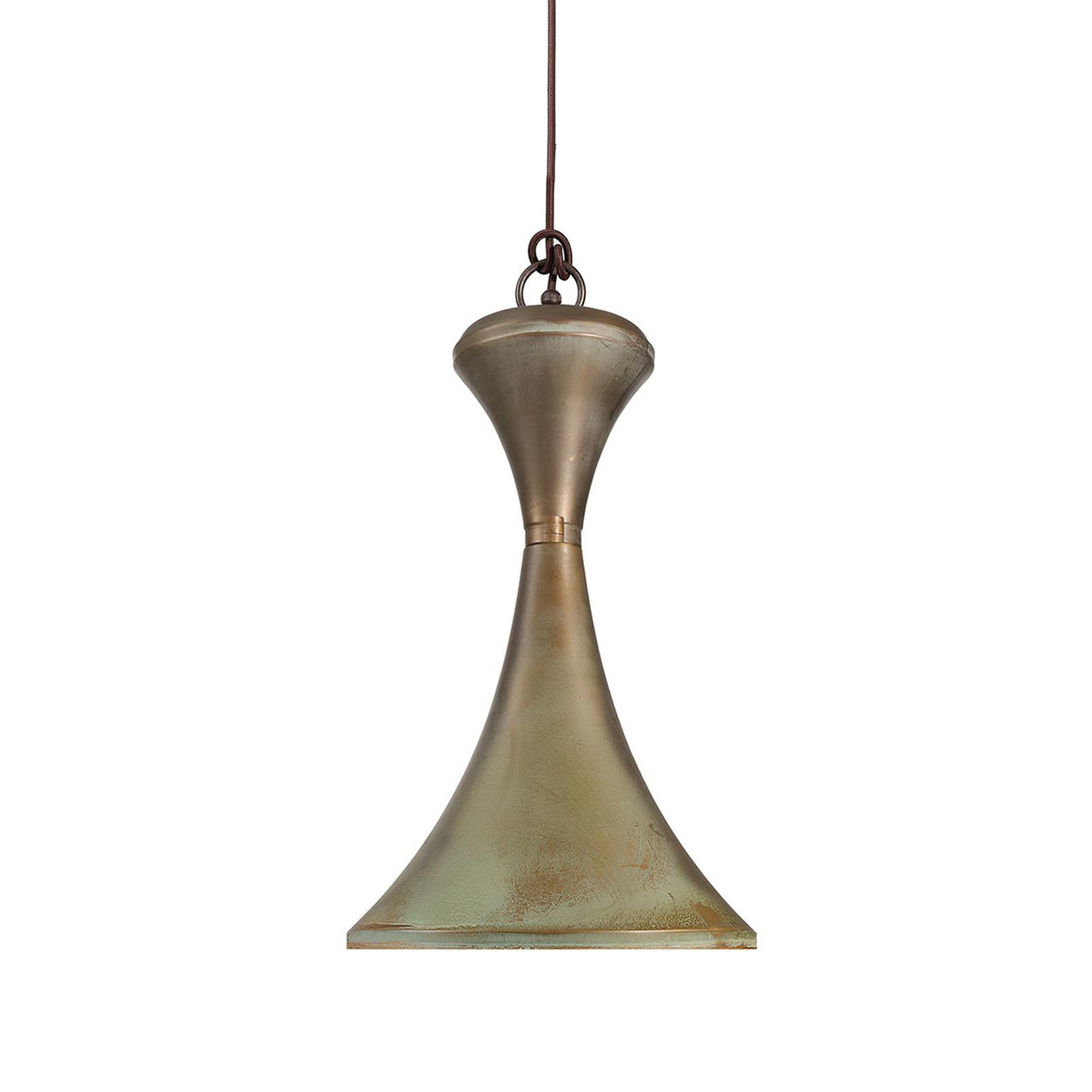 4100 hanglamp messing antiek