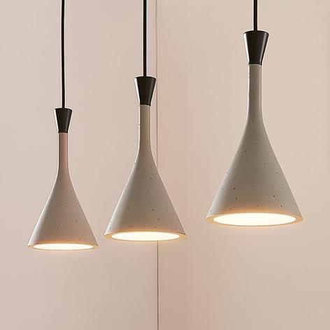 Hanglamp Flynn voor de eettafel met drie lampen