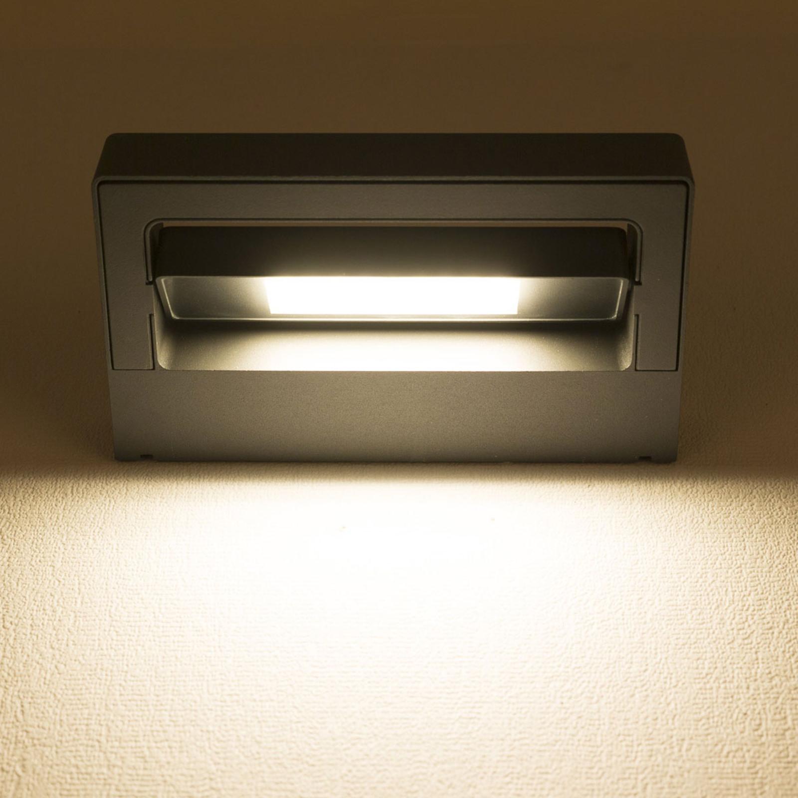 Cordoba - draaibare LED buitenwandlamp