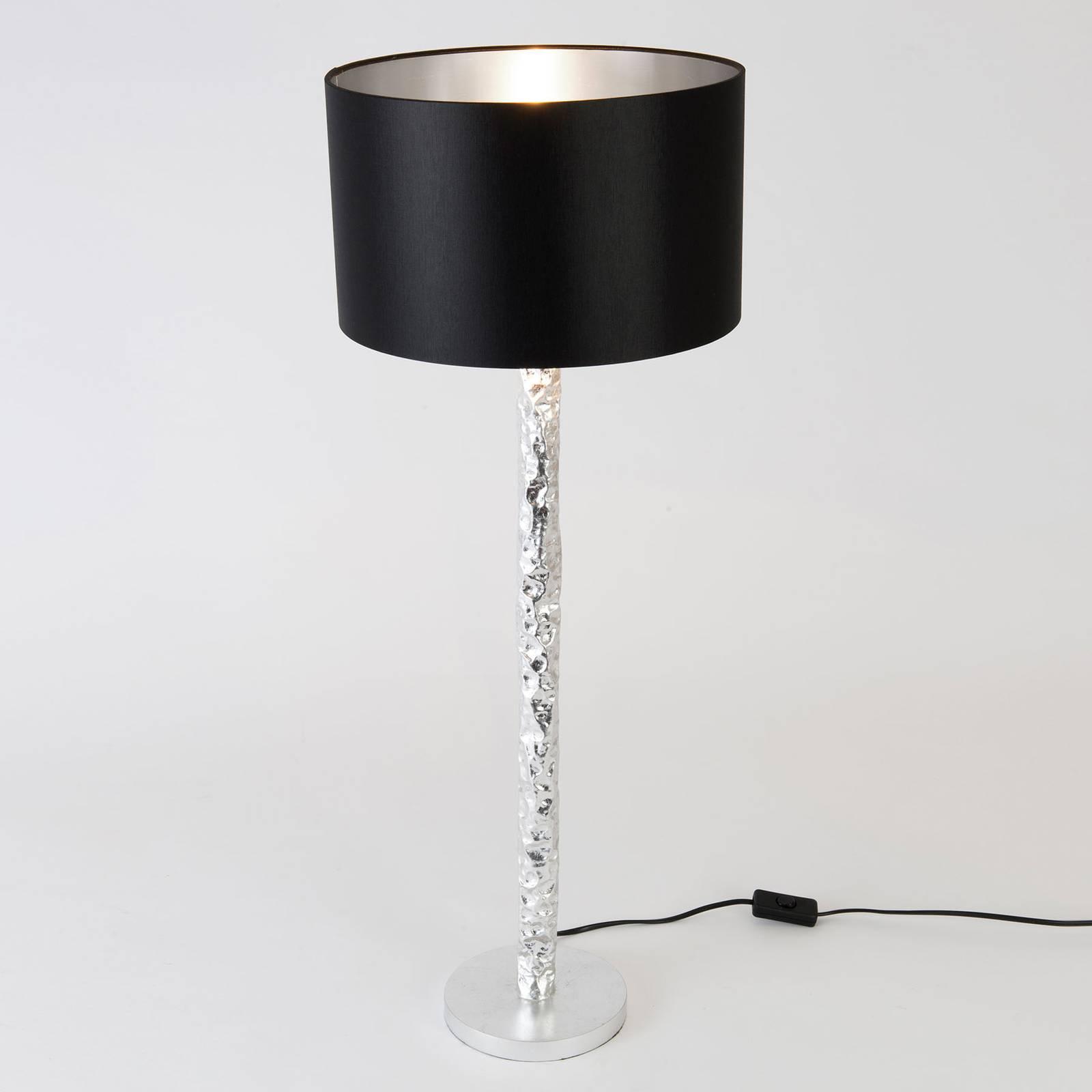 Tafellamp Cancelliere Rotonda zwart/zilver 79cm