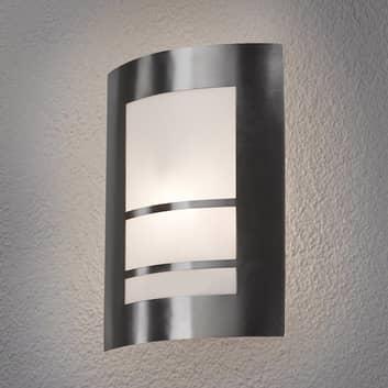 Applique Katalea a LED, da parete, in argento