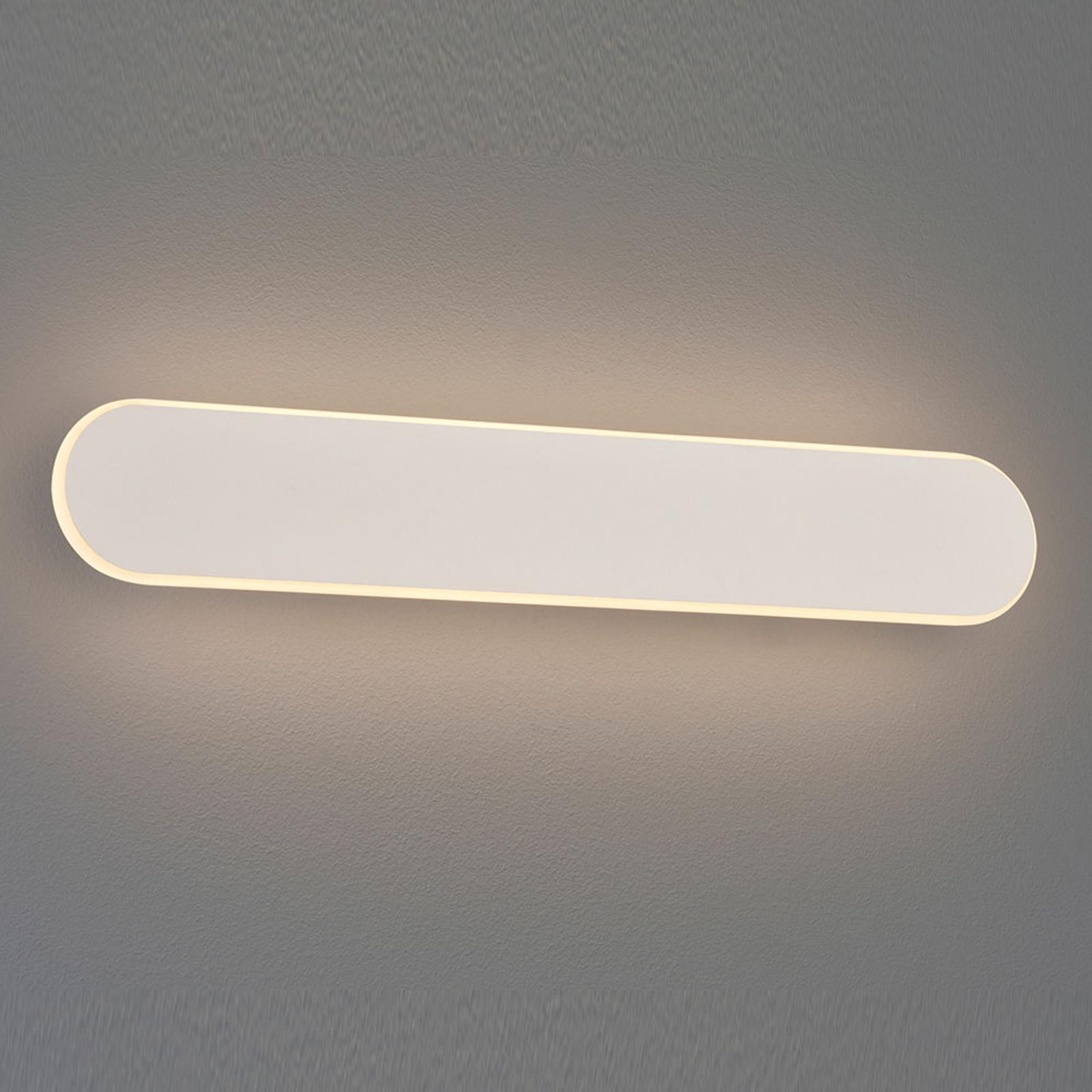LED wandlamp Carlo, SwitchDim, 50 cm, wit