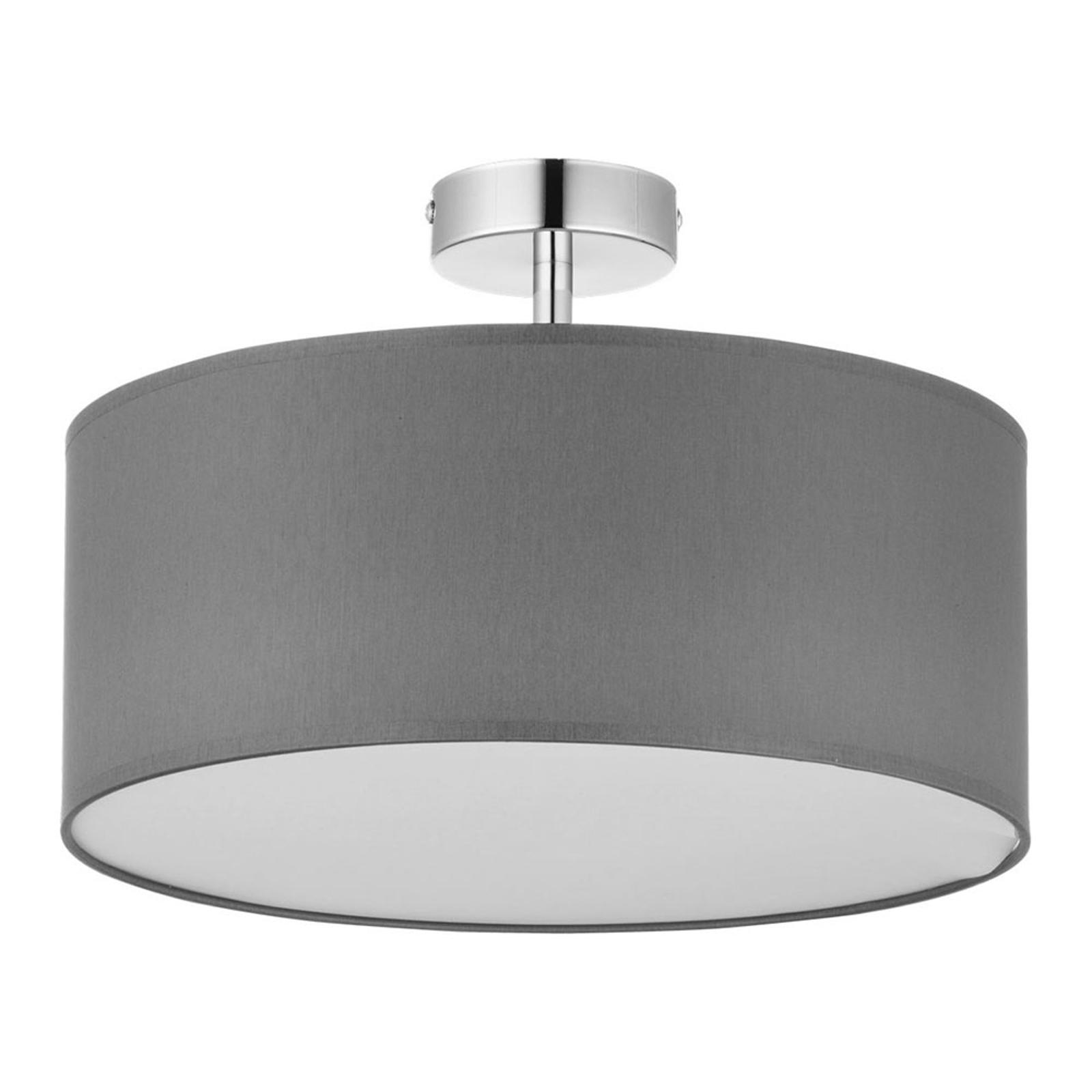 Rondo taklampe med avstand, grå Ø 45 cm