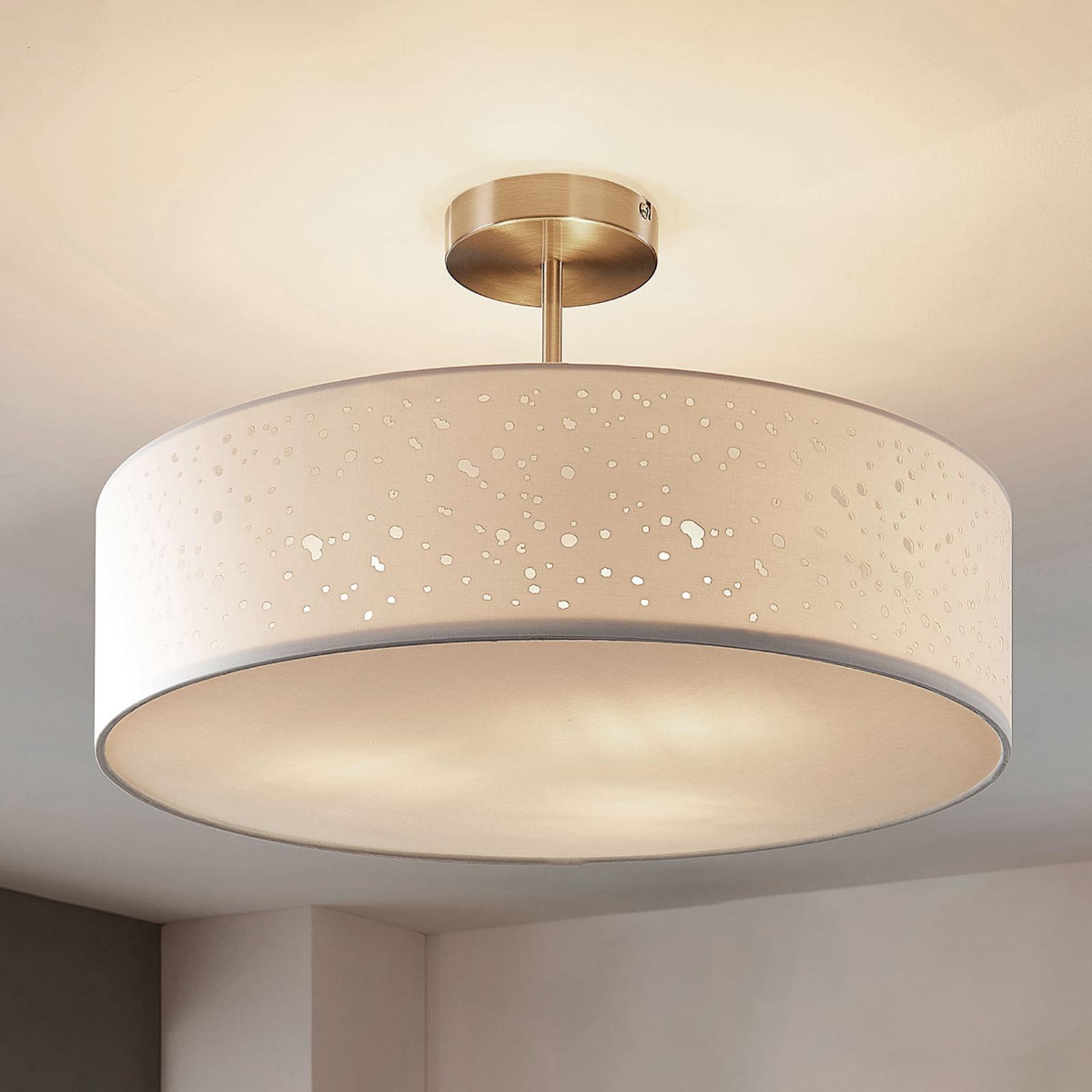 Lampa sufitowa Umma z dystansem, biała