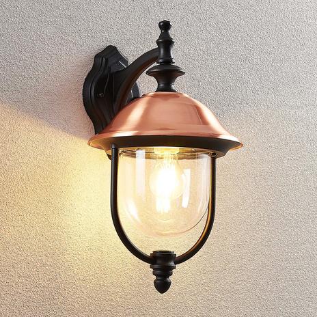 Lindby Clint lampa zewnętrzna, latarnia wisząca