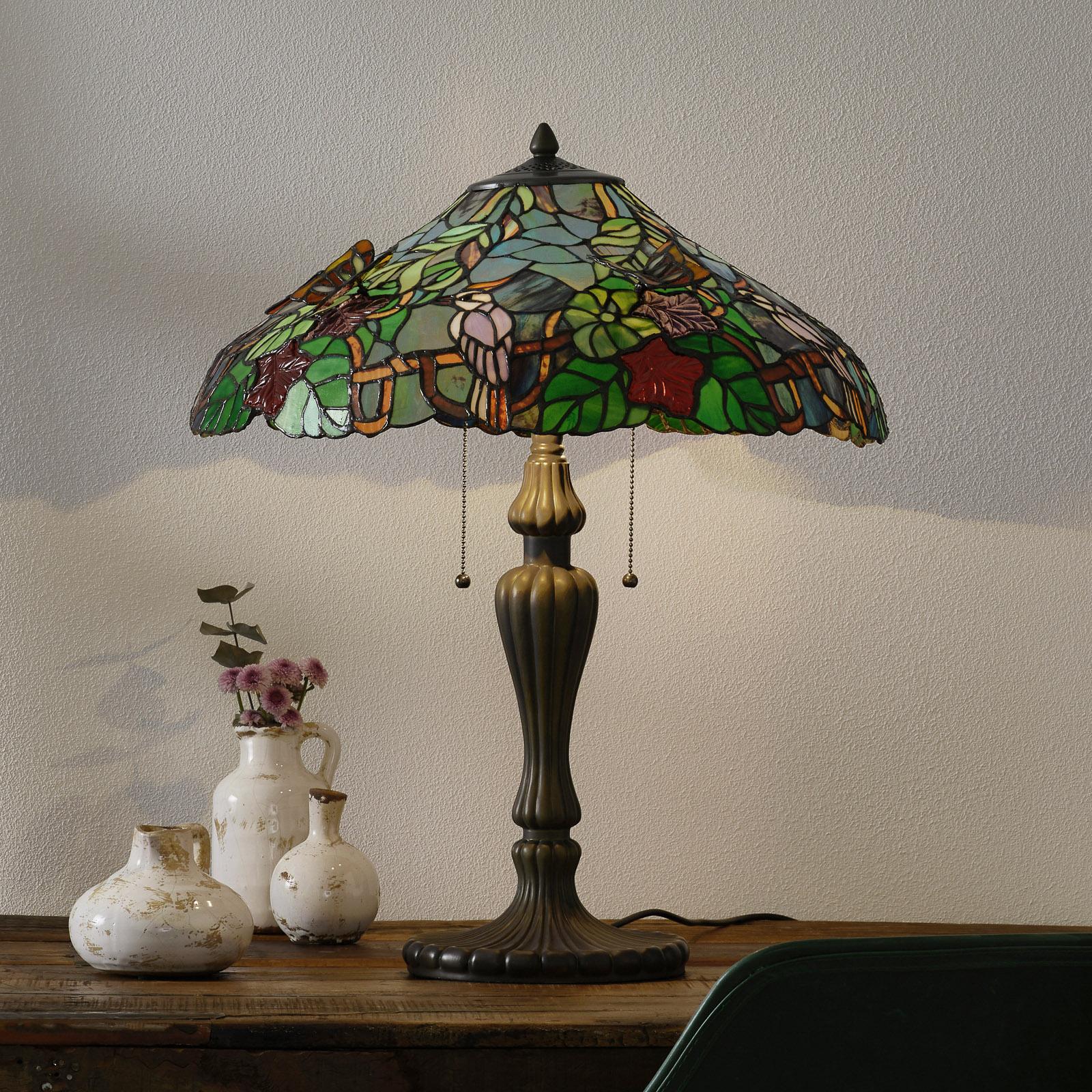 Magistrale lampada da tavolo Australia - Tiffany