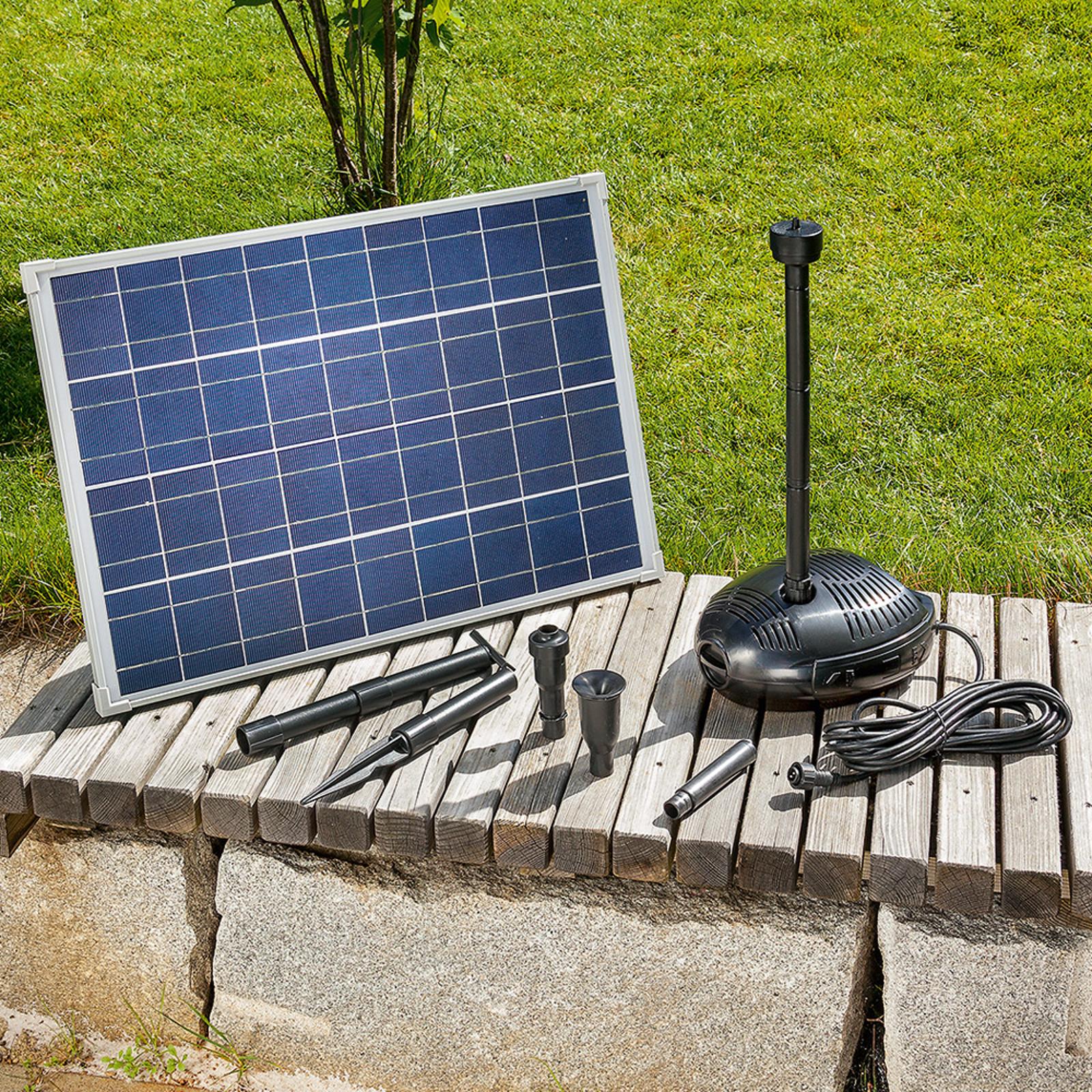 Energieffektivt solcelledrevet pumpesystem Genova