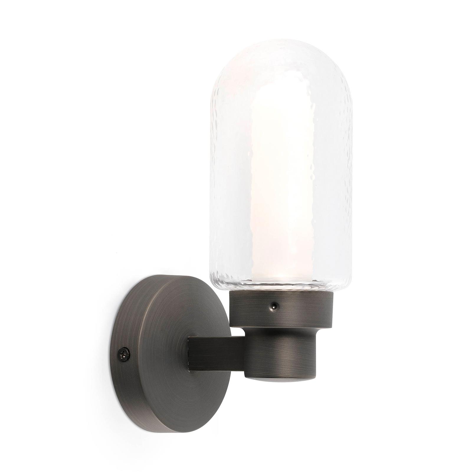 LED-Wandleuchte Brume, bronze