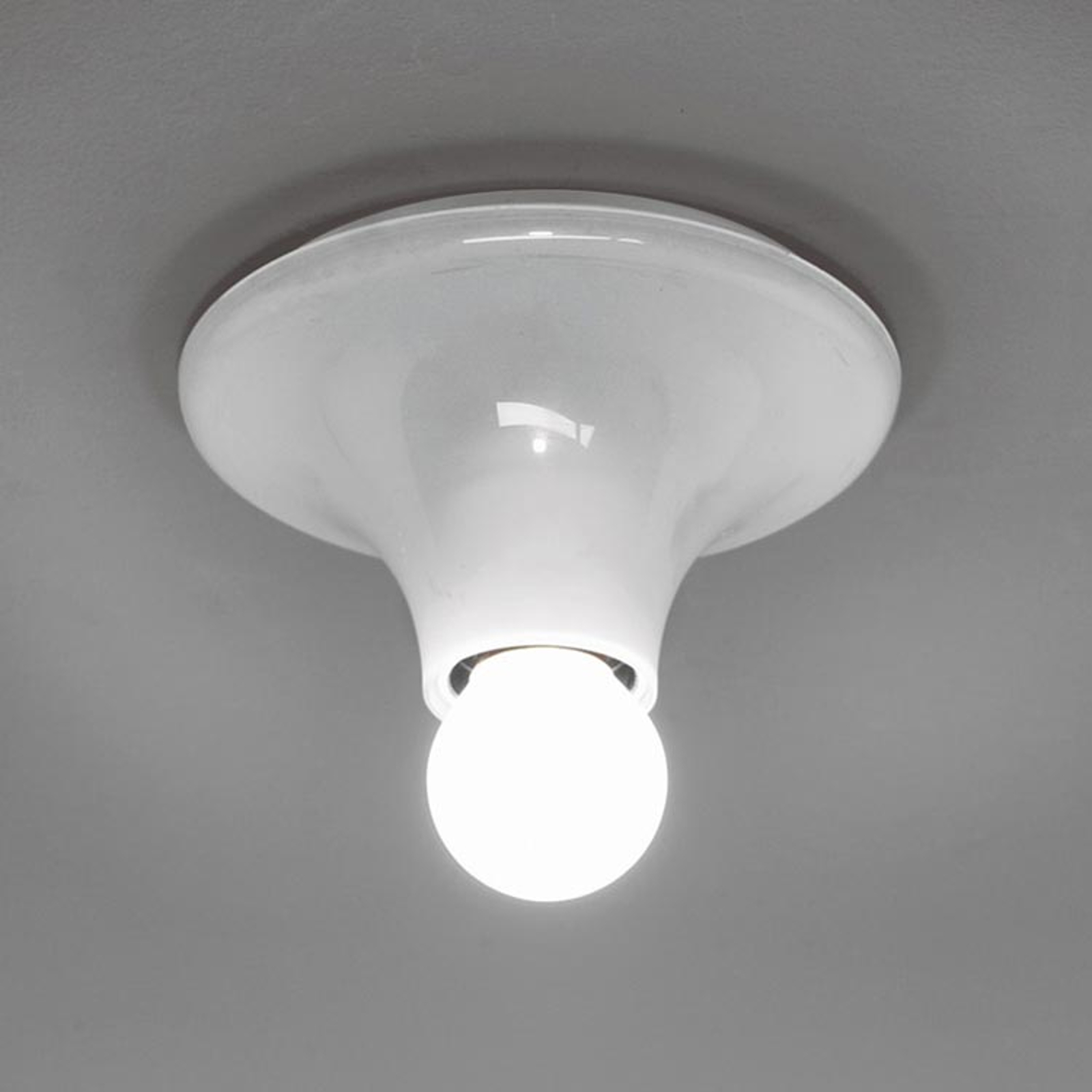 Design wandlamp Teti, wit