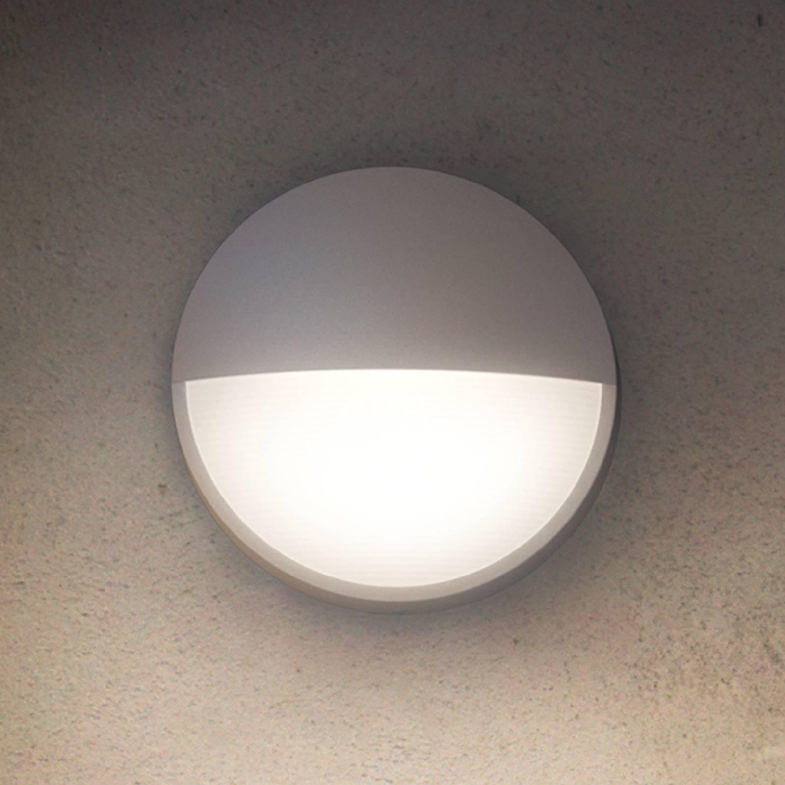 Philips Capricorn LED-Außenwandleuchte grau